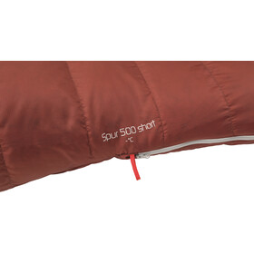 Robens Spur 500 Sacco a pelo corto, rosso
